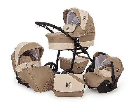 Cochecito de bebé Lux4Kids con sistema de viaje 3 en 1. Con asiento deportivo,