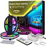 ViLSOM LED Strip Lights 65.6FT 20M 1080LEDs with 44Keys Remote, LED Lights for Bedroom, Room, TV, Kitchen and Christmas…