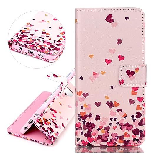 14 opinioni per Custodia Samsung Galaxy S6 Edge, ISAKEN Libro Style PU Leather Custodia Case