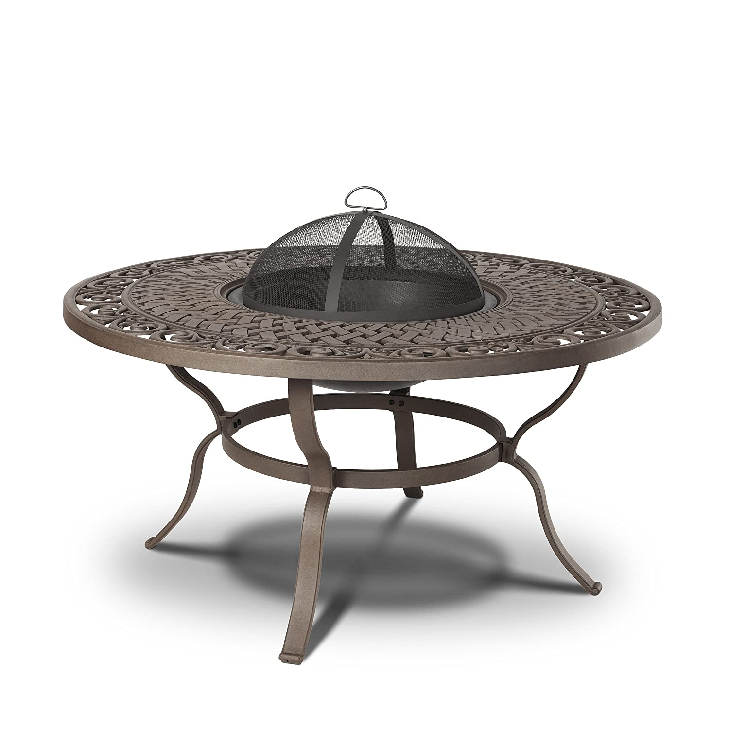Marvelous Wood Fire Pit Table   Amazon.com: Real Flame Florence Wood Burning Fire Table: Garden U0026 Outdoor