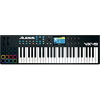 Alesis VX49 49-Key USB/MIDI Keyboard & Drum Pad Controller