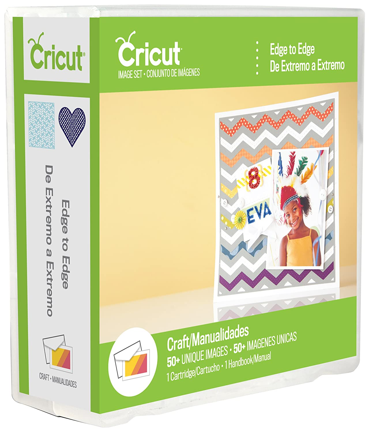 Cricut 2002147 Edge to Edge Cartridge for Artwork