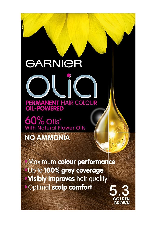 Garnier olia permanent hair colour golden brown 5 3 - Garnier Olia Permanent Hair Colour Golden Brown 5 3 13