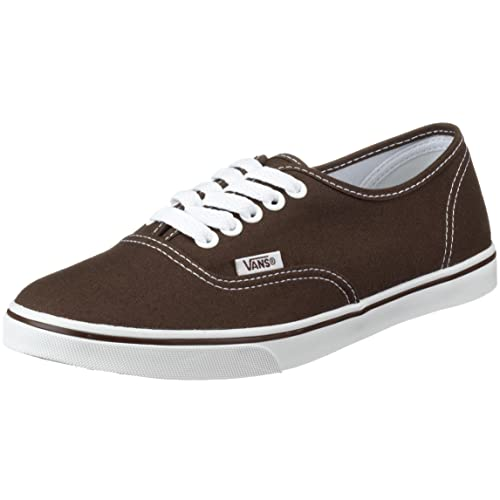 Vans Unisex Authentic Trainer Lo Pro espresso/true white VGYQETR 2.5 UK