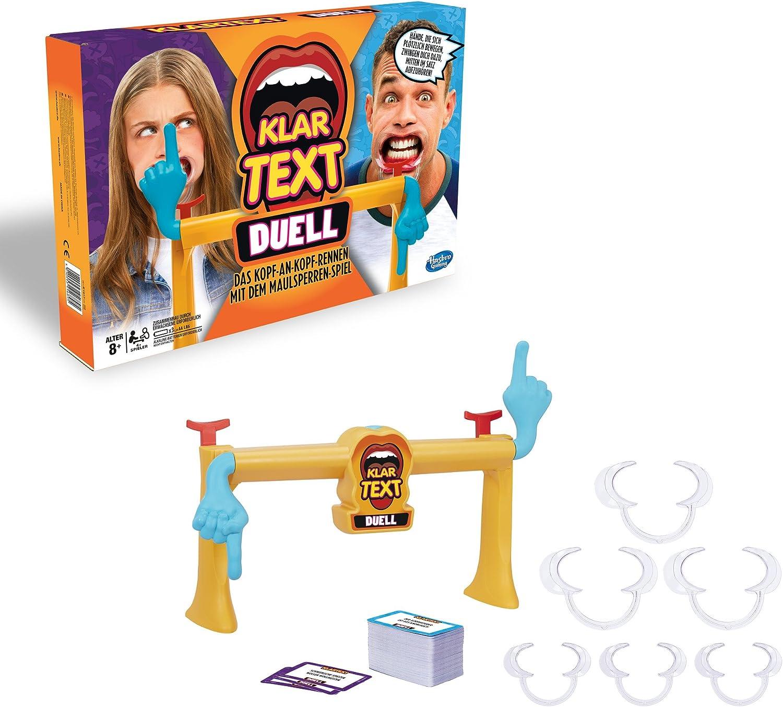 Hasbro Klartext Duell Partyspiel Kinderspiel Familienspiel Gesellschaftsspiel
