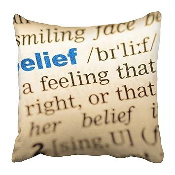Amazon.com: Emvency Fundas de almohada decorativas de color ...