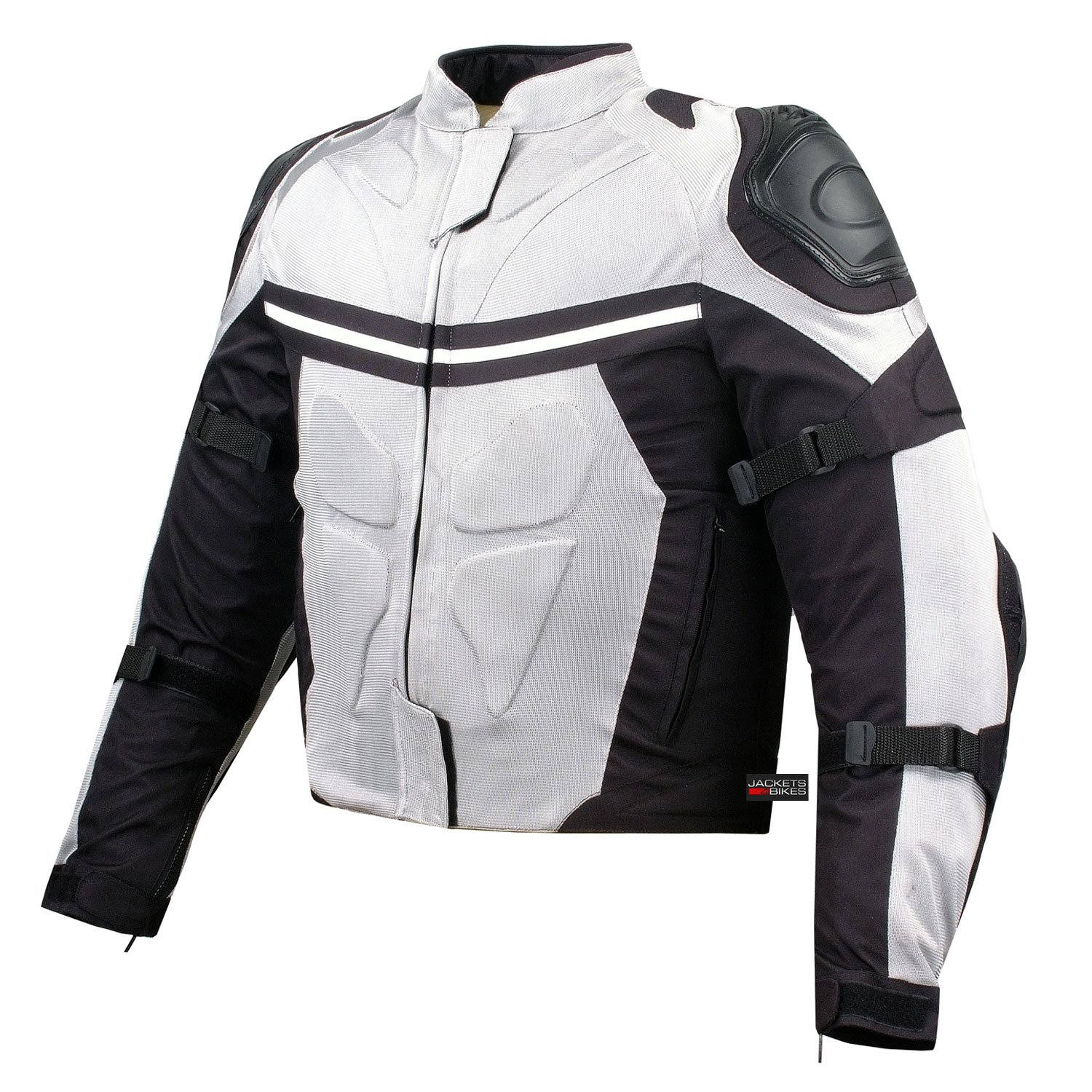 choose newest 100% genuine elegant appearance PRO MESH MOTORCYCLE JACKET RAIN WATERPROOF WHITE L