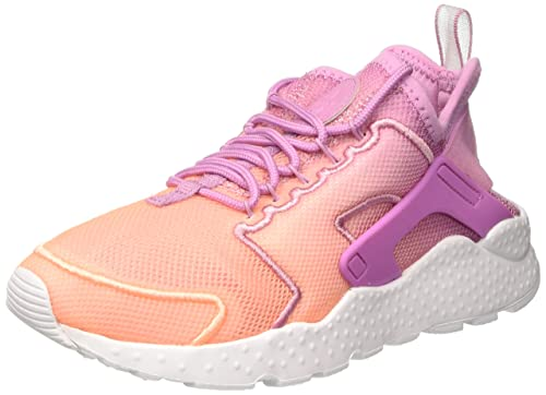 online store 2374e 07d7e NIKE Women s WMNS Air Huarache Run Ultra Br Gymnastics Shoes, Multicolour  Orchid Sunset Glow