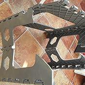 One Step Folding Plastic Stool Portable Fold Up