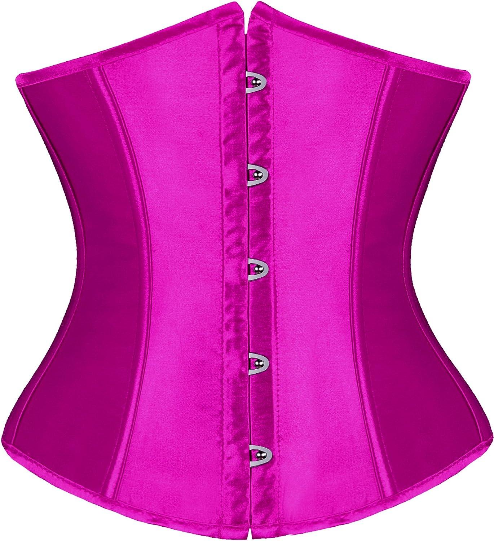 FOCUSSEXY Womens Short Plain Style Waist Cincher Corset Shaper Belt