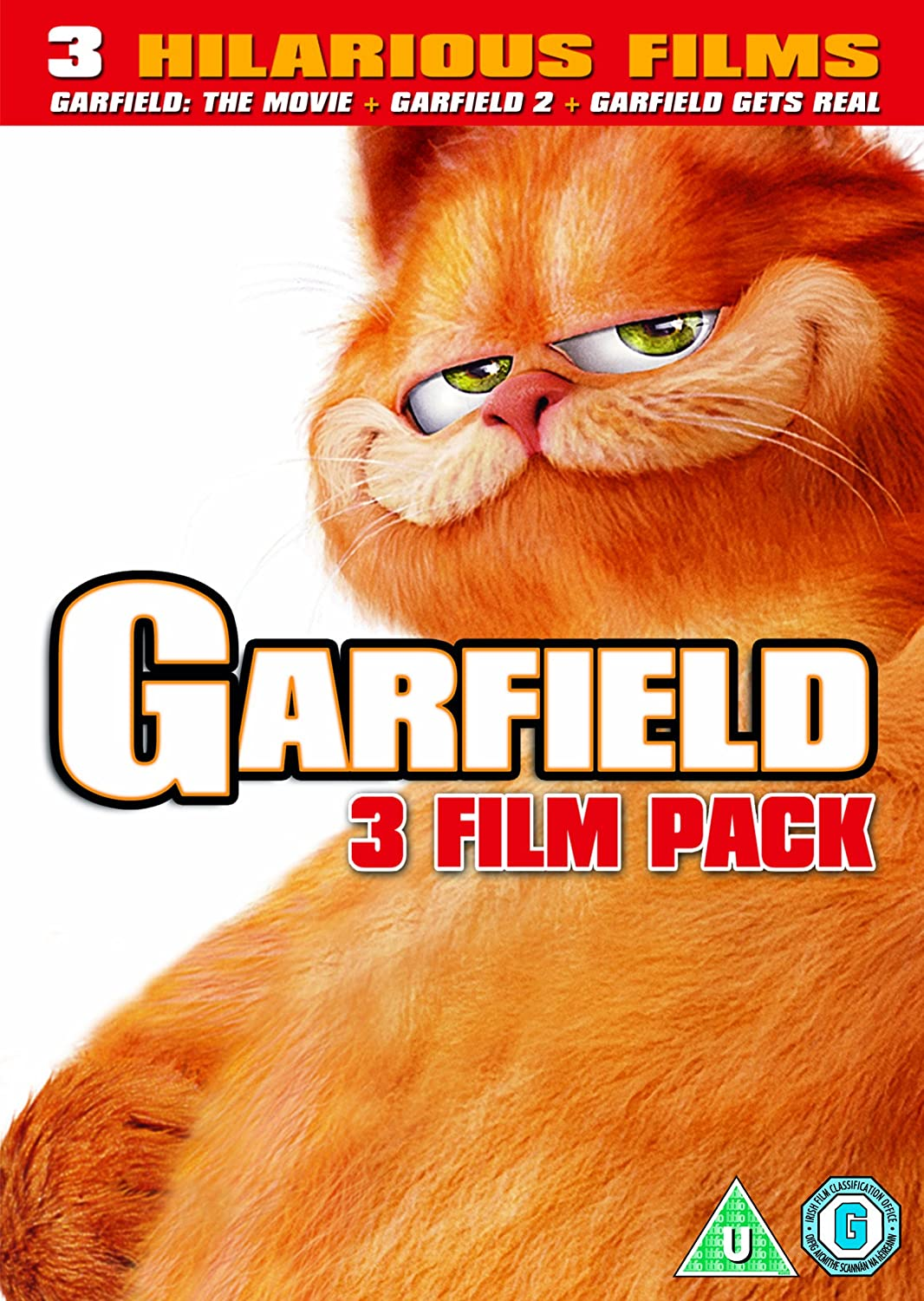 Amazon Com Garfield 1 3 Boxset Dvd Movies Tv