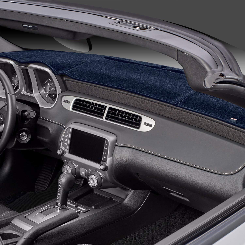 Plush Velour, Black DashMat VelourMat Dashboard Cover Dodge Ram Pickup