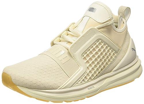f35395ca0a4 Puma Men s Ignite Limitless Reptile Whisper White Running Shoes-10.5  UK India (45