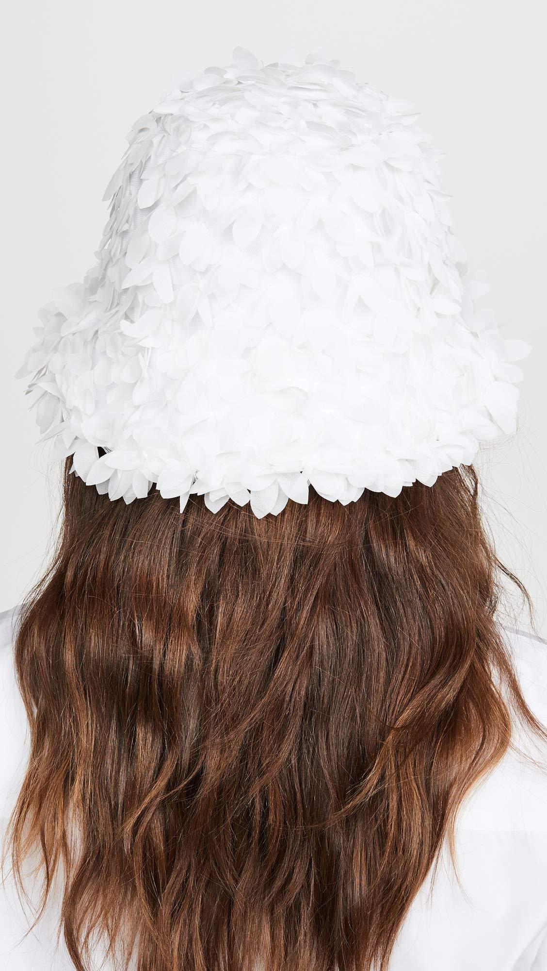 Eugenia Kim Women's Toby Bucket Hat, White, One Size by Eugenia Kim (Image #4)