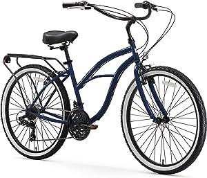 sixthreezero Electric-Bicycles Around The Block Womens Beach Cruiser Bicycle
