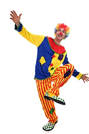 DRESS ME UP - L204/M-0044C Disfraz payaso hombres circus ...