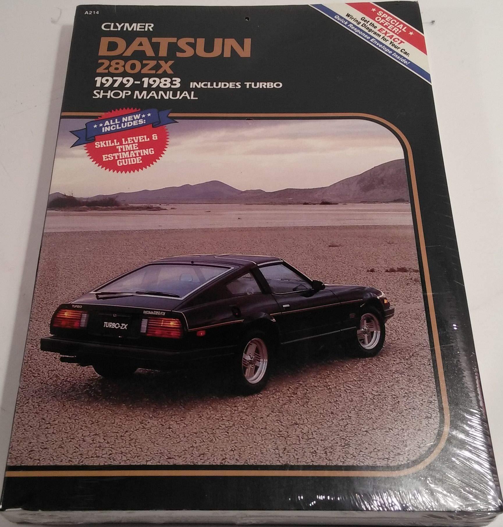 Datsun 280zx 1979 1983 Includes Turbo Shop Manual Wiring Diagrams Alan Ahlstrand Fremdsprachige Bcher