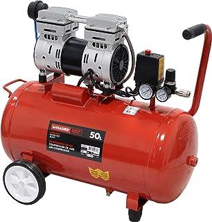 Compresor de aire 50 Litros 206l/min 1500W 220V: Amazon.es ...