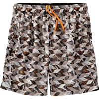 Legendary Whitetails Men's River Rock Swim Shorts, Geo Camo