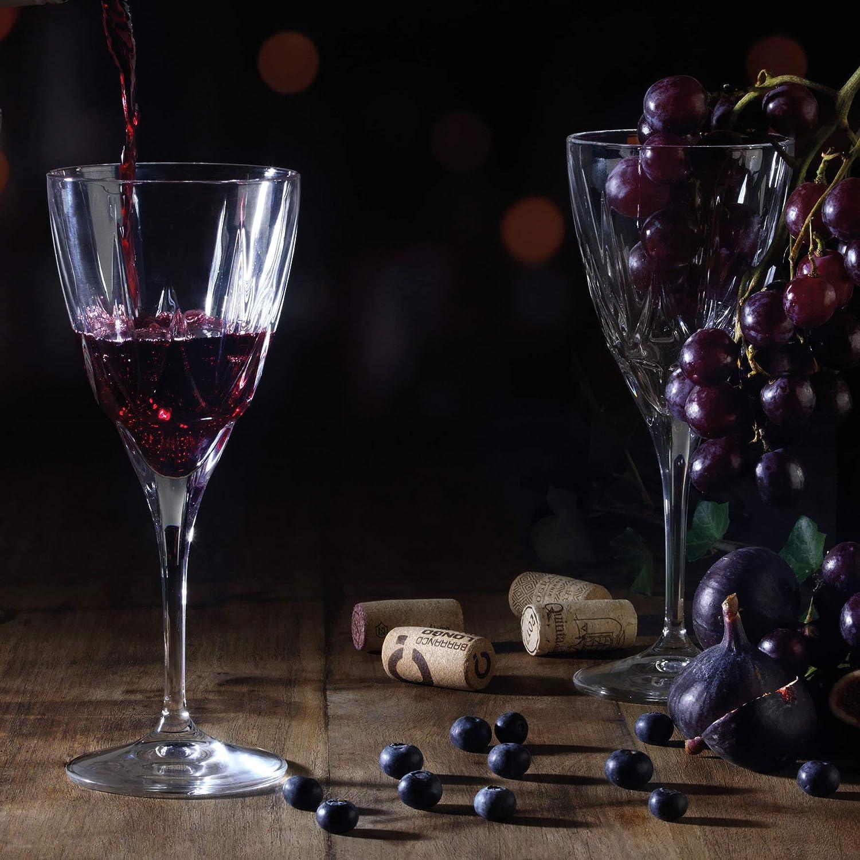 Lot de/6 RCR 1RCR-26230020006 Verres /à vin en Cristal Luxion Chic 26230020006 Claire 360/ML Glass