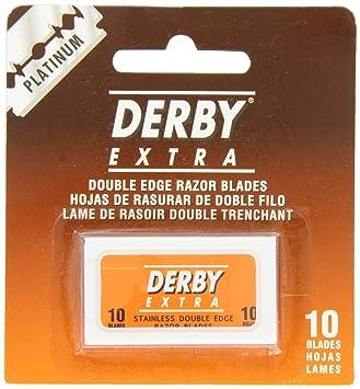 c0464a580b4 Amazon.com  Derby 250 Derby Extra Double Edge Razor Blades  Beauty