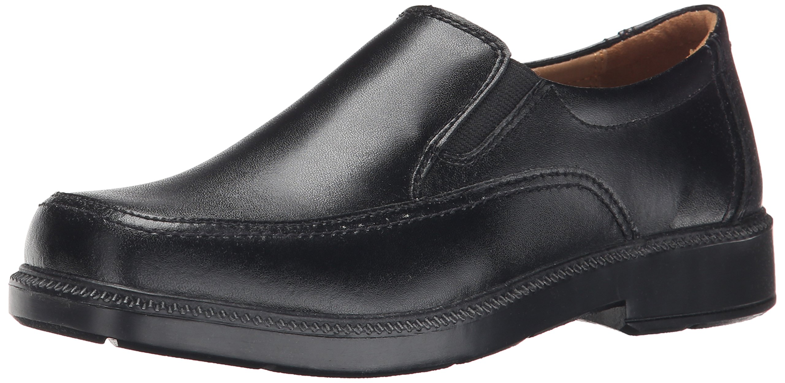 Florsheim Kids Bogan JR Uniform Slip-on (Little Kid/Big Kid), Black, 6 M US Big Kid