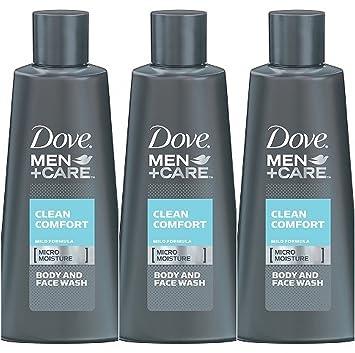 Amazon.com : Dove Men + Care Clean Comfort Micro Moisture Mild ...