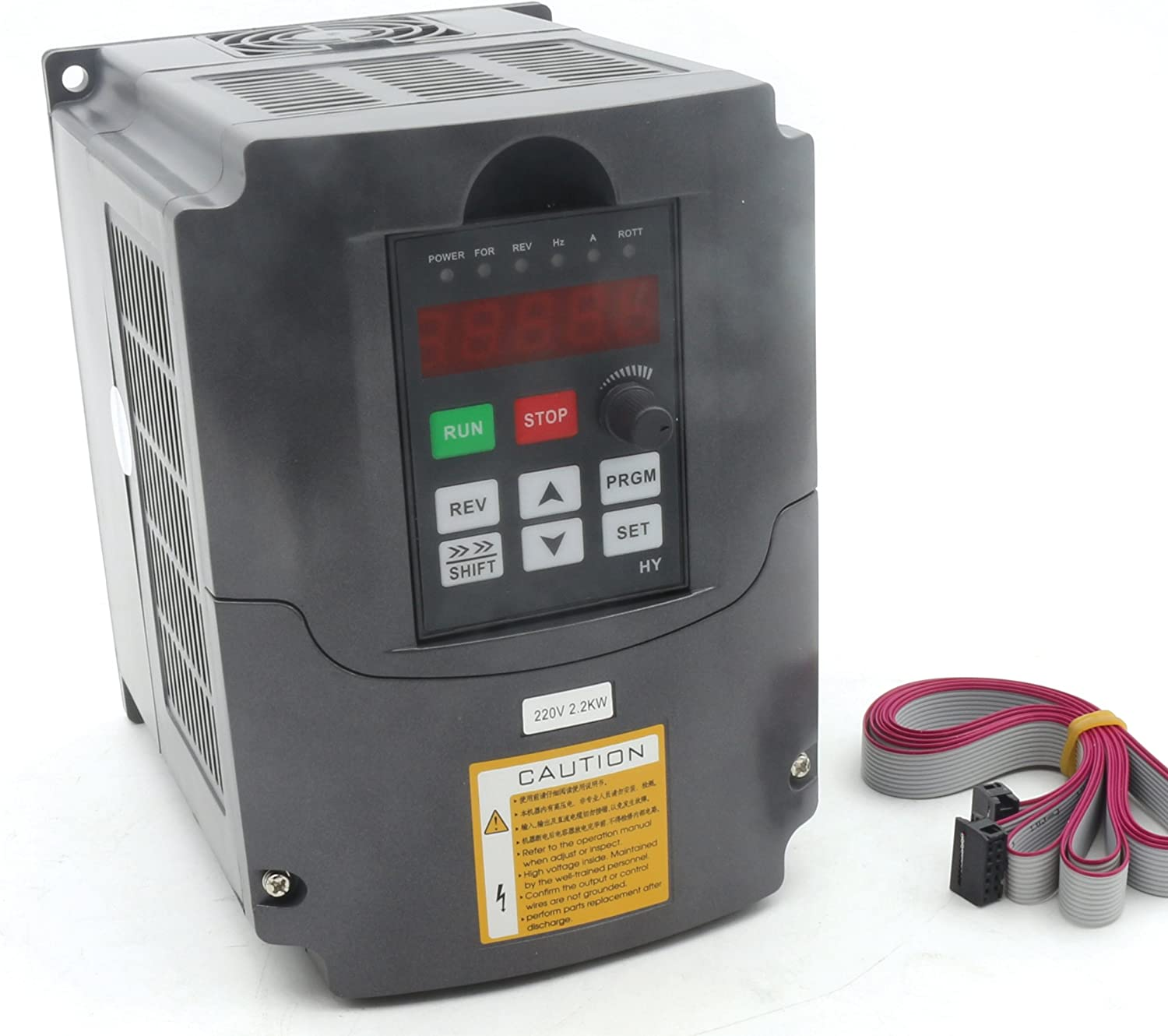 2.2KW 220V VFD CNC Spindle Motor Speed Control Variable Frequency Drive 1HP or 3HP Input 3HP Frequency Inverter