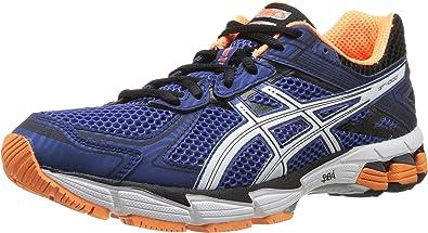 ASICS Gt-1000 2 - Zapatillas de correr para hombre, color azul (6001-electric blue/white/flash orange), talla 47 EU (11.5 UK): Amazon.es: Zapatos y complementos