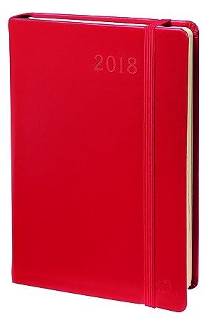 Quo Vadis Note 24 - Agenda 2019, diseño Habana, color rojo
