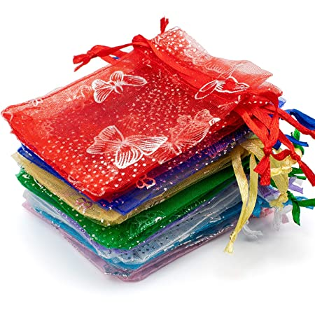 Set de 25 bolsas de organza, ideal para regalo en bodas ...