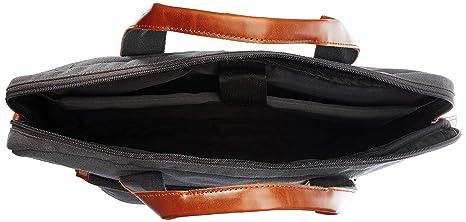 e2c70a823da1 (CERTIFIED REFURBISHED) Ruosh Canvas 38 cms Grey Messenger Bag (mes-bag-5502)   Amazon.in  Bags