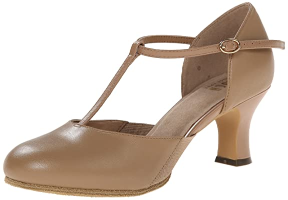 Swing Dance Shoes- Vintage, Lindy Hop, Tap, Ballroom Bloch Womens SFX Split Flex Character Shoe $94.95 AT vintagedancer.com