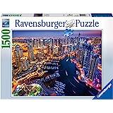 Ravensburger - Dubai De Noche Rompecabeza de 1500 Piezas, Multicolor, 16355