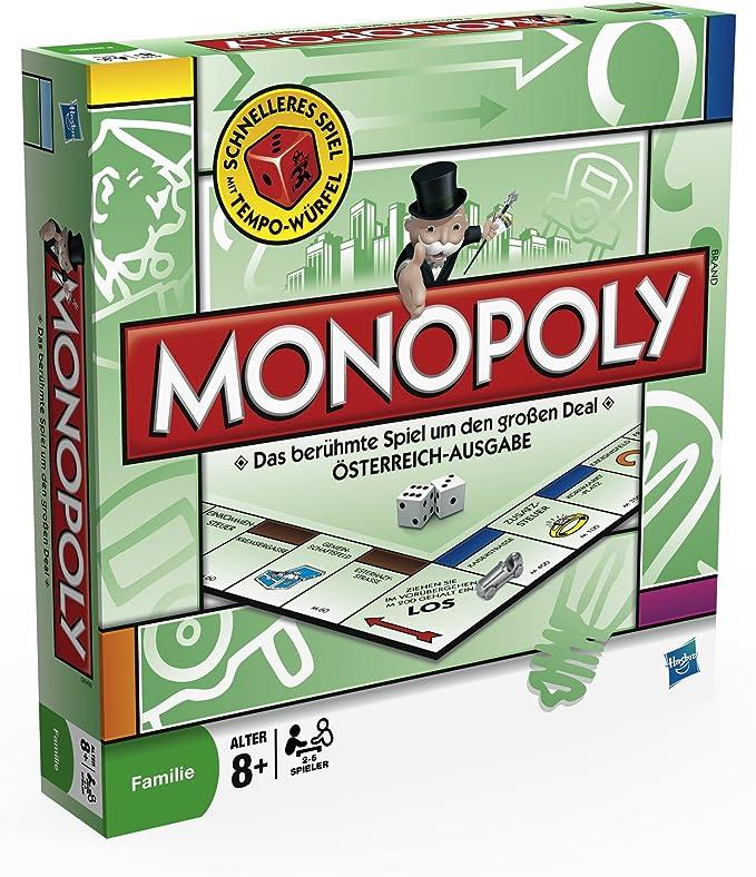 Monopoly - Juego de Tablero, 2 a 6 Jugadores (9.00E+68) (versión en alemán): Amazon.es: Juguetes y juegos