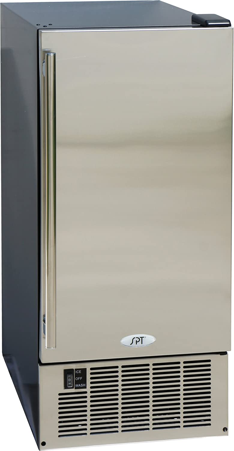 SPT IM-600US: Stainless Steel Under-Counter Ice Maker