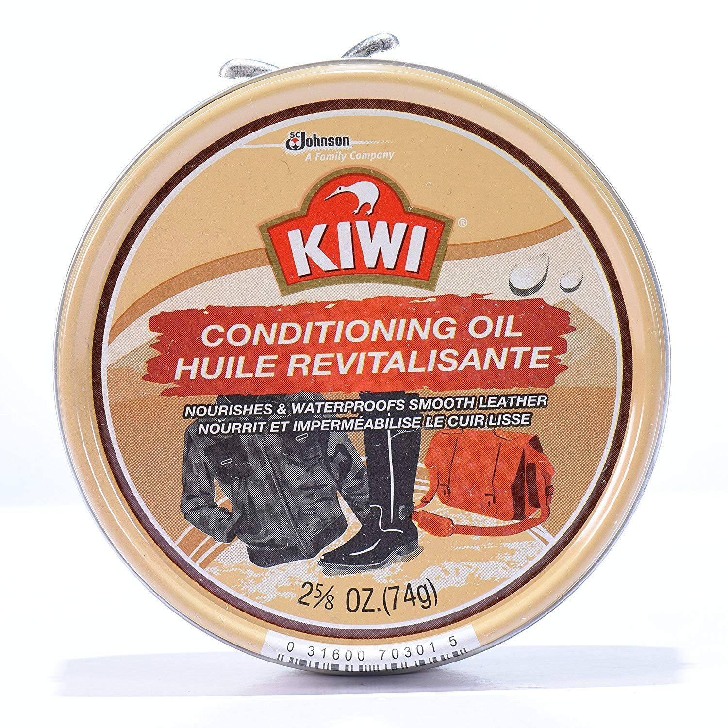 Kiwi Conditioning Oil, 2-5/8 oz (74g) (Pack - 6)