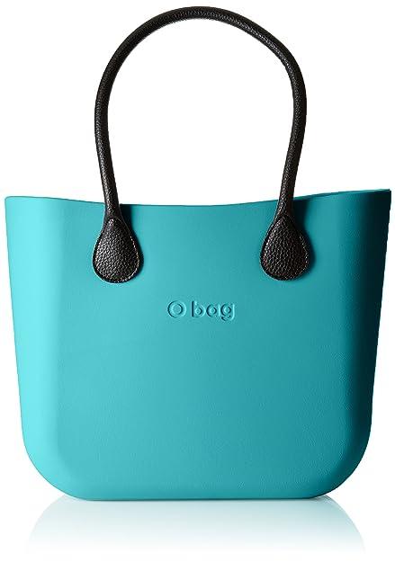 O bag - Obdy13_obcv02, Bolsos de mano Mujer, Verde (Acqua), 38x31x14
