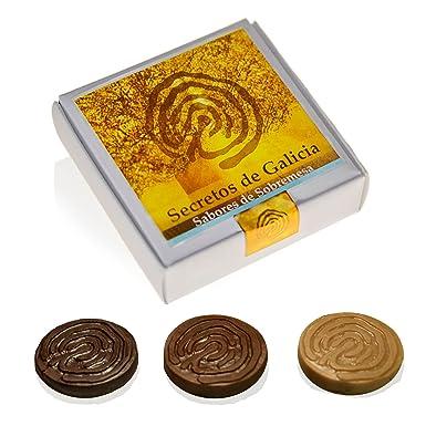 Caja 12 bombones rellenos Sobremesa de Galicia