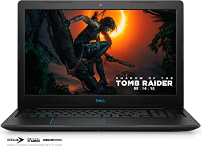 "Dell Gaming Laptop G3579-5941BLK-PUS G3 15 3579 - 15.6"" Full HD IPS Anti-Glare Display - 8th Gen Intel i5 Processor - 8GB DDR4 - 128GB SSD+1TB HDD - NVIDIA GeForce GTX 1050 4GB, Windows 10 64bit"