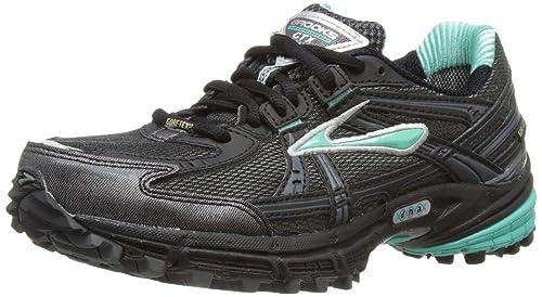 Brooks Adrenaline GTX - Zapatillas de deporte para mujer, Negro, 35,5 EU/3 UK