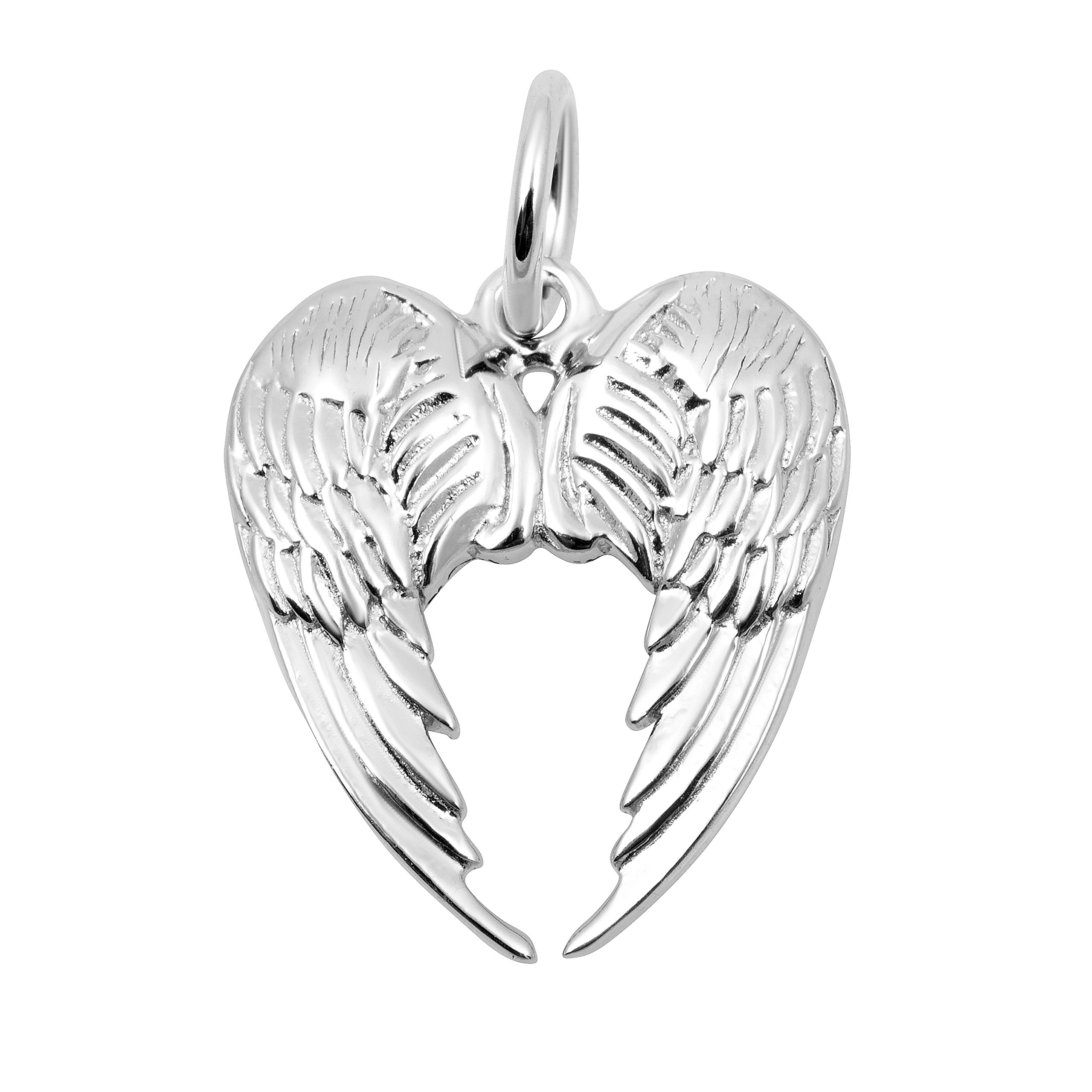 Necklace & Bracelet Charms, Love & Hearts Themed Sterling Silver fine Jewelry by Silver on the Rocks