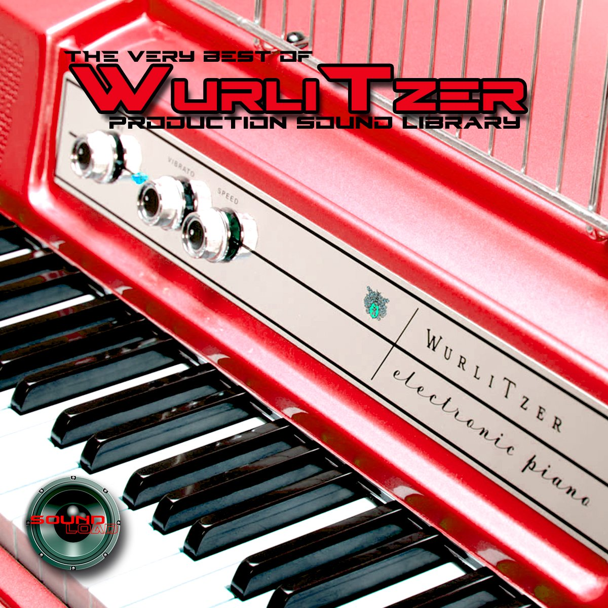 Wurlitzer Electronic Piano - Large unique 24bit WAVE/KONTAKT Multi-Layer Studio Samples Production Library on DVD or download by SoundLoad