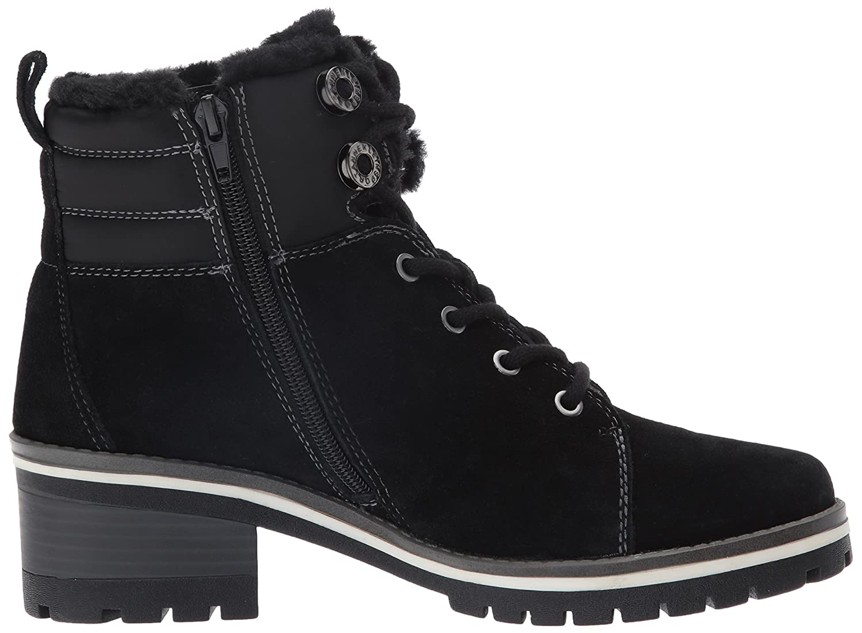 Anne Klein Women's Langstyn 9 Suede Snow Boot B01FMWB3CY 9 Langstyn B(M) US|Black 99a2f4