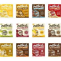 Nakd Mixed Case Selections (12 NEW Flavours, 48 Bars)
