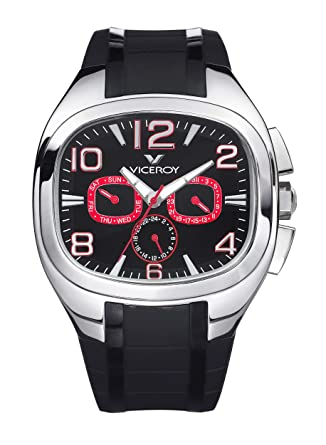 Amazon.com: Reloj Viceroy Genesis 47707 – 75 Hombre Negro ...