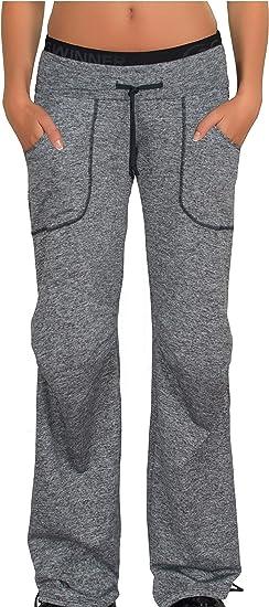 Pantalones de deportes de las mujeres pantalones de chándal ...