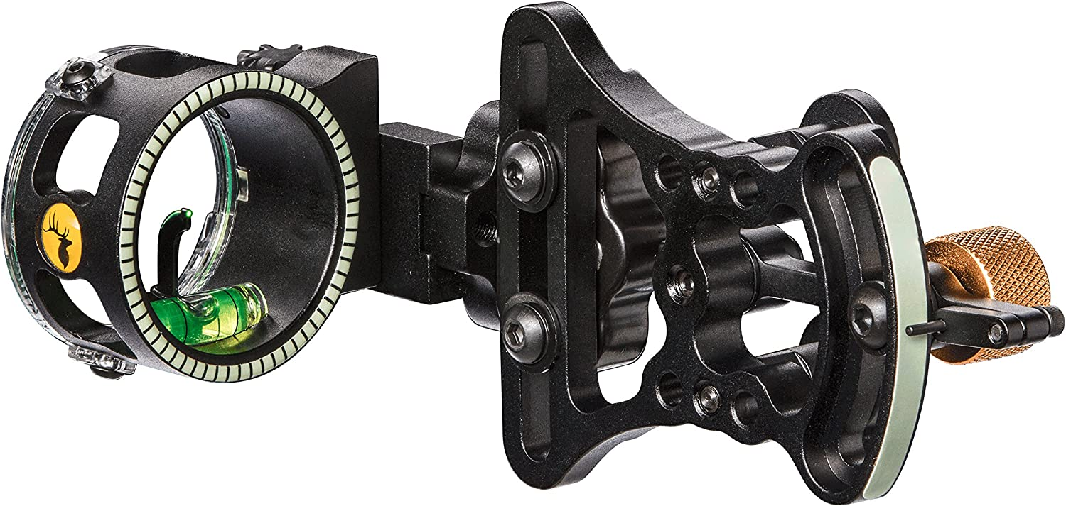 Trophy Ridge Pursuit Vertical Pin Bow Sight- Best Bow Sight for Deer Hunting