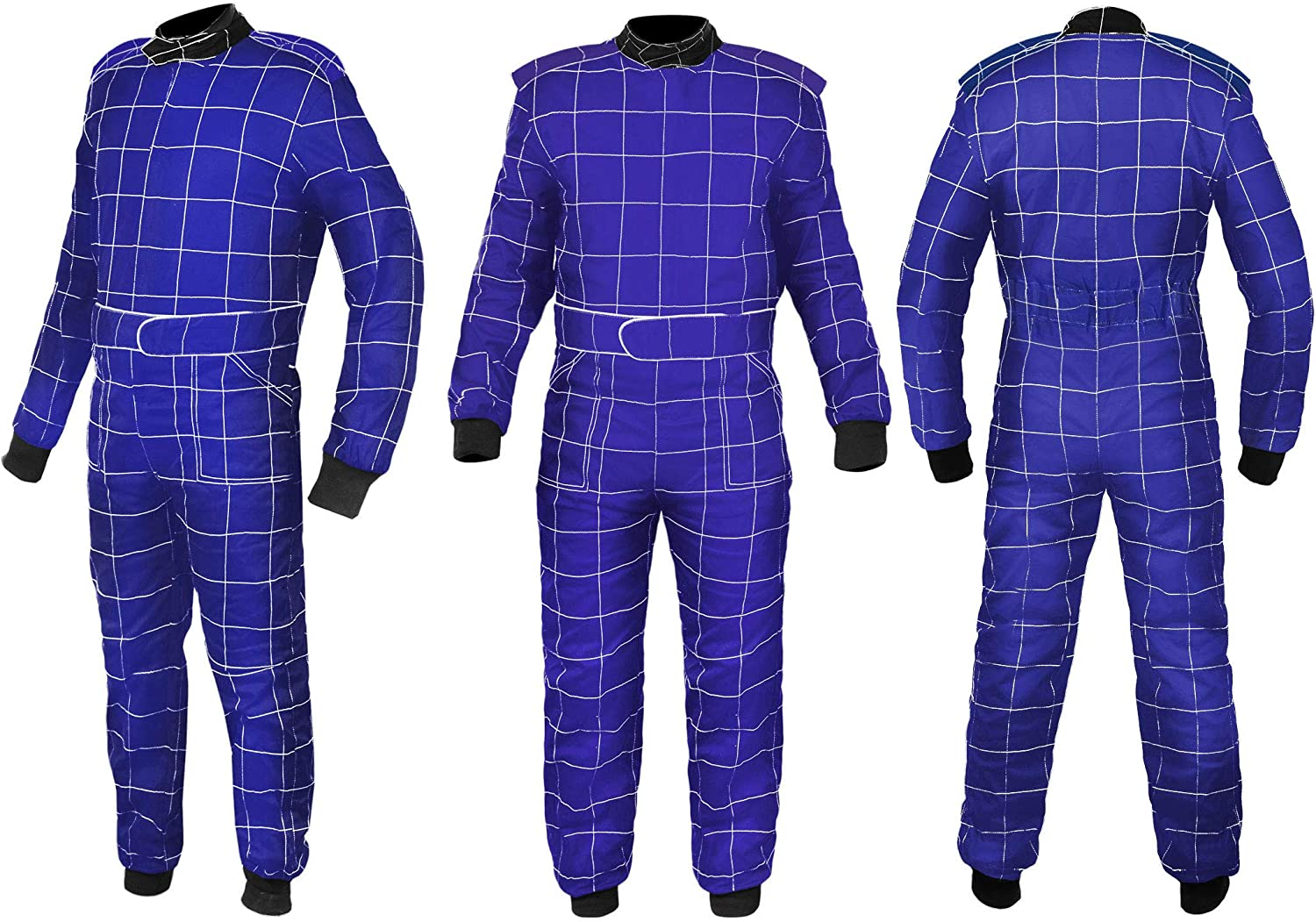 Sparx Sports Go Kart Racing Cart Karting Suit Blue
