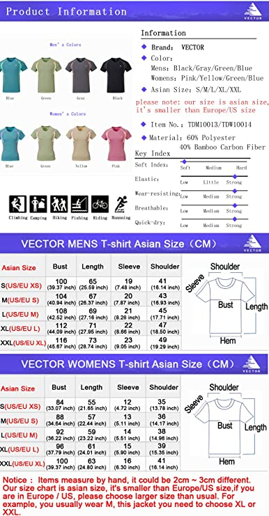 VECTOR - Camisa deportiva - Manga corta - para mujer verde ...